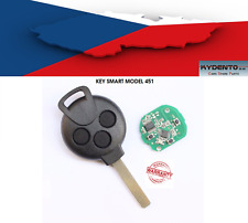 Cover key guscio chiave clé Smart 451 with remote controlled 433MHz