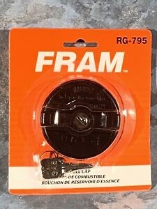 FRAM Locking Gas / Fuel Cap RG-795 ~ New