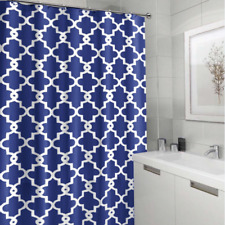 AOACreations Shower Curtain with Hooks for Bathroom Floral Crown Design