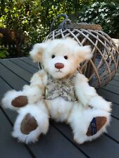 LUXURY MOHAIR JOINTED COLLECTABLE HANDMADE TEDDY BEAR BY VOSBEARS