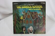 Lovecraft Dunwich Horror David McCallum 33 rpm Vinyl Record Caedmon TC 1467