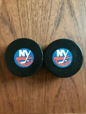 Vintage Viceroy NHL Hockey Puck - New York Islanders - Rubber Plastic Rare Lot