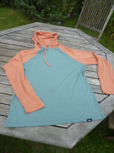 Finisterre Merino mix hoodie, size 12