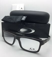 New OAKLEY Eyeglasses CURRENCY OX8026-0254 54-17 Flint Satin Brown-Grey Frame