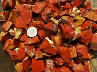 1000 Carat Lots of Chestnut Jasper Rough - Plus a FREE Faceted Gemstone