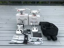 DJI Phantom 3 Advanced Drone+ DJI Phantom 2, case etc LARGE BUNDLE NO RESERVE