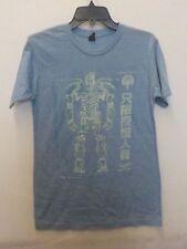 Mens Pacific Rim Gipsy Danger Light Blue Graphic Tshirt New #13553V