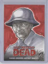 2012 Sketch Cards #HMDH Hanie Mohd (Dale Horvath) 1/1 Dale Horvath Card 3n6