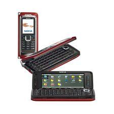 """CELLULARE NOKIA E90 SLIDE RED COMMUNICATOR 4"""" 3G WIFI FOTOCAMERA TOP QUALITY."""