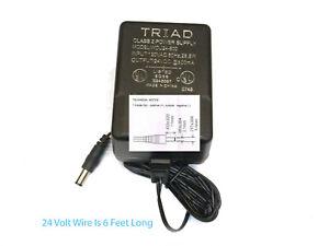 TRIAD MAGNETICS TRANSFORMER 120 VAC PRIMARY-SECONDARY 24 VDC @ 800 MA