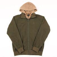 Vintage ADIDAS Originals Hooded Jacket   Men's M   Coat Hoodie Trefoil Retro 90s