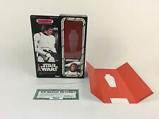 "custom vintage Star wars 12"" han solo stormtrooper disguise box + inserts"