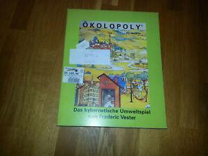 """Ökolopoly PC Version das kybernetische Umweltspiel Frederic Vester 5 1/4"""" #LB690"""