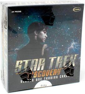 STAR TREK DISCOVERY SEASON 1 TRADING CARDS BOX (RITTENHOUSE) BLOWOUT CARDS