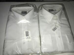 2 Horace Small The Force White Uniform Shirts 15 1/2 x 33 new