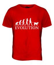 SAMOYED EVOLUTION OF MAN MENS T-SHIRT TEE TOP DOG LOVER GIFT WALKER WALKING