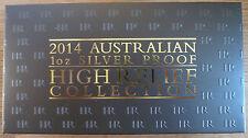2014 AUSTRALIAN prova alta sollievo TRE 3 MEDAGLIA Set.999 argento