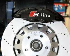 6x Audi S-line Bremssattel Aufkleber kit Hochtemperatur Vinyl Grafik Sline