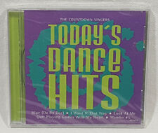Today's Dance Hits by The Countdown Singers (CD, Oct-2000, Madacy) NEW