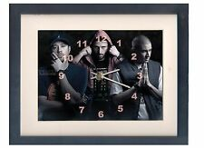 Bliss N Eso. A high quality framed print and clock. Music memorabilia.