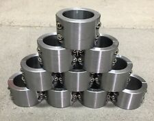 """10- 2 Pc Steel Universal Weld On Fabrication Clamps 1.75"""" - 4 Blt  Roll Bar Cage"""