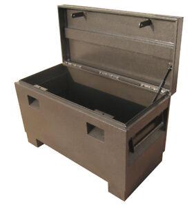"""Steel Job Site Tool Box Van forklift Garage Vault Site 36"""""""