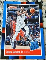 JAREN JACKSON JR 2018 Donruss #1 Draft Pick 1988 RATED Rookie Card SP RC $ HOT $