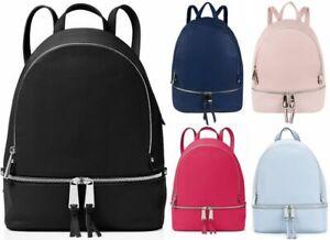 Mini Fashion Rucksack Backpack Bag Leather Travel Bag Women Ladies Handbag