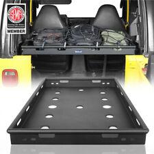 Steel Black Interior Rear Storage Cargo Rack Basket Fit Jeep Wrangler 97-06 TJ