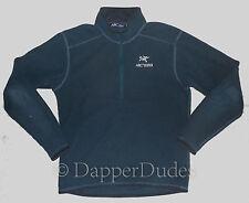 Mint! ARC'TERYX Delta AR Zip Neck Fleece Jacket-Men M-Deep Dusk-Grid