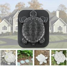 Concrete Path Mold Turtle Stepping Stone Diy Plastic Road Making Garden Tool