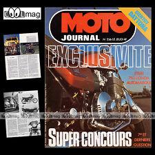 MOTO JOURNAL 256 HONDA CB 750 AUTOMATIQUE CJ 360 125 CR ROKON BULTACO 250 1976