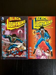 Black Lightning Vol. 1 and 2, SIGNED by Tony Isabella, Denny O'Neil and Others