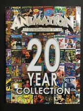 ANIMATION MAGAZINE BOOK 2O YEAR COLLECTION, 317 PAGES & DUST COVER