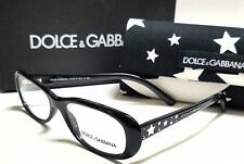 Authentic DOLCE & GABBANA DG3122 501 Black 52/16/135 Rx Eyeglasses