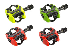iSSi Flash III Dual-Sided SPD Clipless Aluminum Pedals MTB, Gravel Bicycle