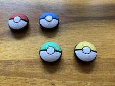 ? Pokemon Pokeball Design Joystick JoyCon Kappe Schutz Nintendo Switch 4 Stück