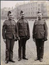 c.1890's PHOTO  - ARMY REGIMENT UNIFORM NW CANADA MILITARY POLICE