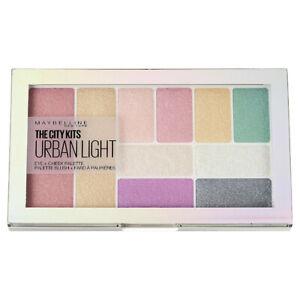 Maybelline The City Kits Urban Light Cheeks Eyes Blush Highlighter Palette New