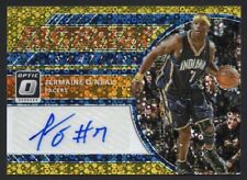 2017-18 Optic JERMAINE O'NEAL Auto Fastbreak Jersey Number #7/10 GOLD Prizm