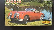 RARE AURORA JAGUAR XK-120 ROADSTER EARLY ISSUE # 512-50 NICE BOX 1/32nd