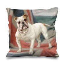 Maud Earl Dimboola The Champion Bulldog Faux Silk 45cm x 45cm Sofa Cushion