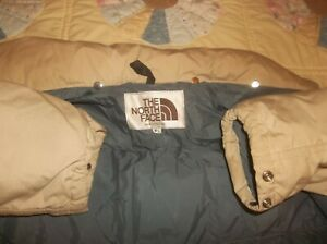 AWESOME The North Face Sierra Brown Label Goose Down Jacket USA TNF Large 60/40