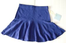 CeCe NEW Sapphire Blue Womens Size Small S Flounce A-Line Skirt