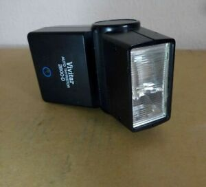 Vivitar 2800-D Flash Auto Thyristor Shoe Mount for Canon A1 AE1 AV1 Speedlight