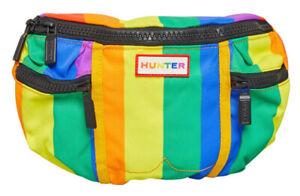 Hunter Original Unisex Gay Pride Collab festival Waist Bag Rainbow Bumbag 🌈new