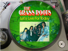 """The Grass Roots - Let's Live For Today Rare 12"""" Picture Disc Demo Single LP NM"""