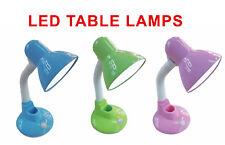 L70011 Led Table/Desk Lamp, Adjustable, Pink/Green/Blue