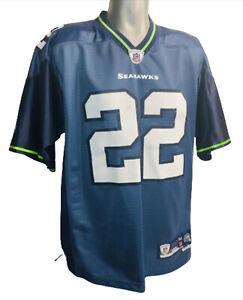 Seattle Seahawks Julius Jones JERSEY Blue Reebok #22 NFL Equipment Vintage