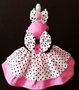 DOG DRESS/   HARNESS  PINK DISNEY NEW FREE SHIPPING